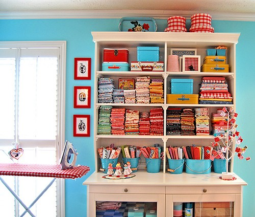 How to store fabric for Fabric storage