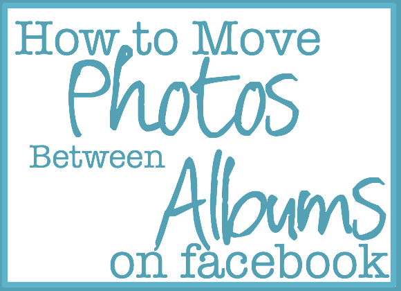 fb photo album tutorial