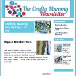 The Crafty Mummy Weekly newsletter