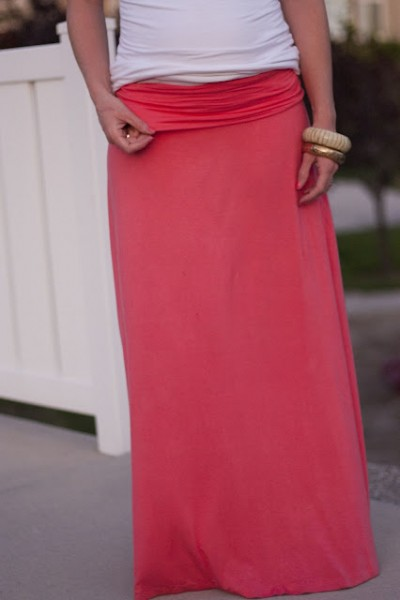 maxi skirt elle apparel