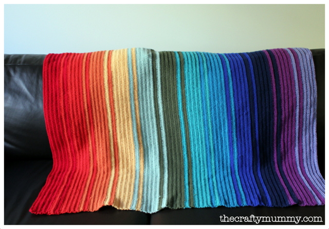 Crochet Blanket Rainbow