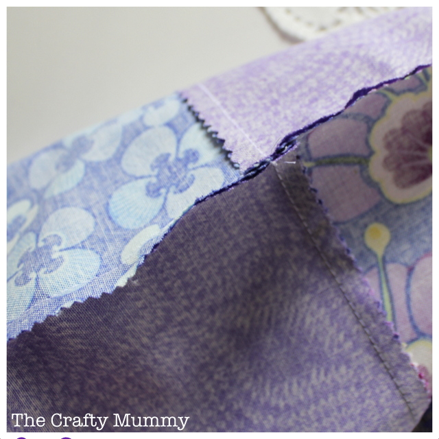 patchwork nest seams