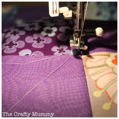 quilting start threads