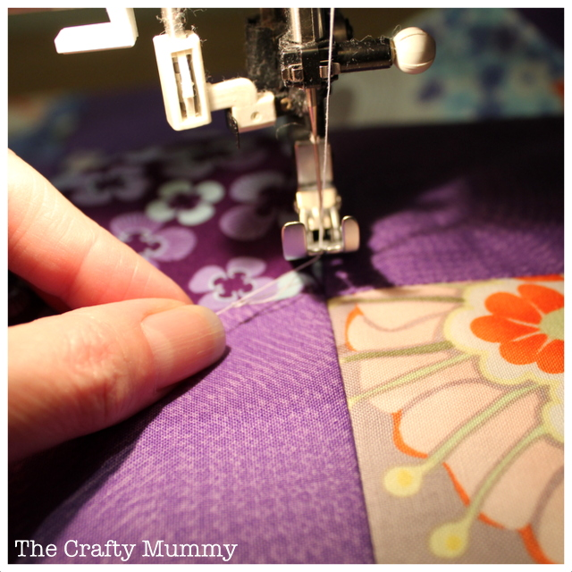 quilting start middle