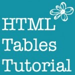 HTML table tutorial