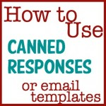 How to use Email Templates on Gmail