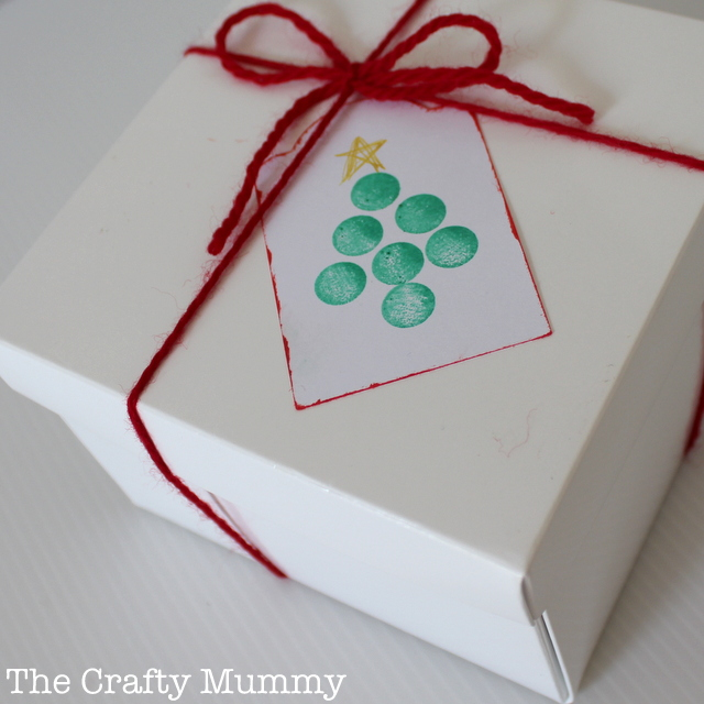 Christmas Gift Tags Handmade.Christmas Gift Tags The Crafty Mummy