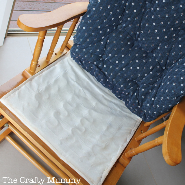 Diy Reupholster Rocking Chair Cushion on for my wooden rocking chair cushions