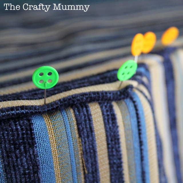 How To Cover a Chair Cushion • The Crafty Mummy