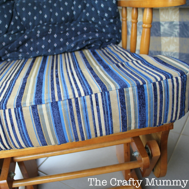 How To Cover a Chair Cushion - The Crafty Mummy