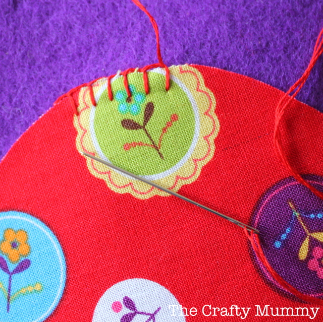 Blanket Stitch Applique Tutorial