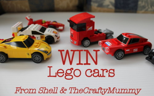 win Lego cars from Shell