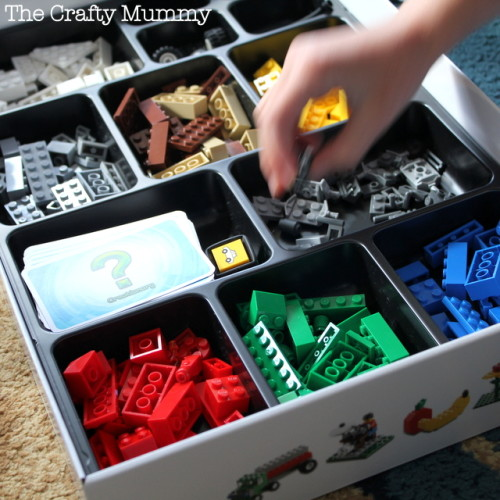 Lego creationary box