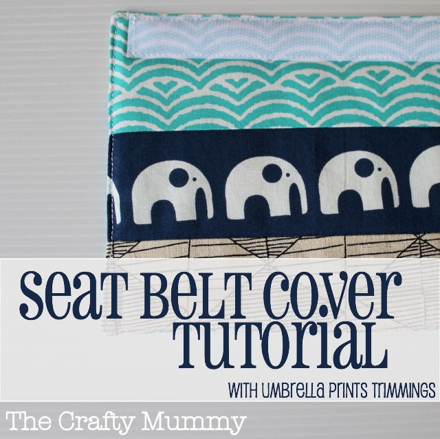 Learn how to make a padded seat belt cover from a few scraps, padding and some velcro - the kids will never complain about the seat belts in the car again!
