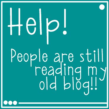 help people are still reading my old blog