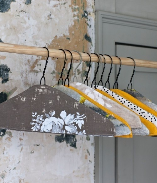 sew coat hanger covers