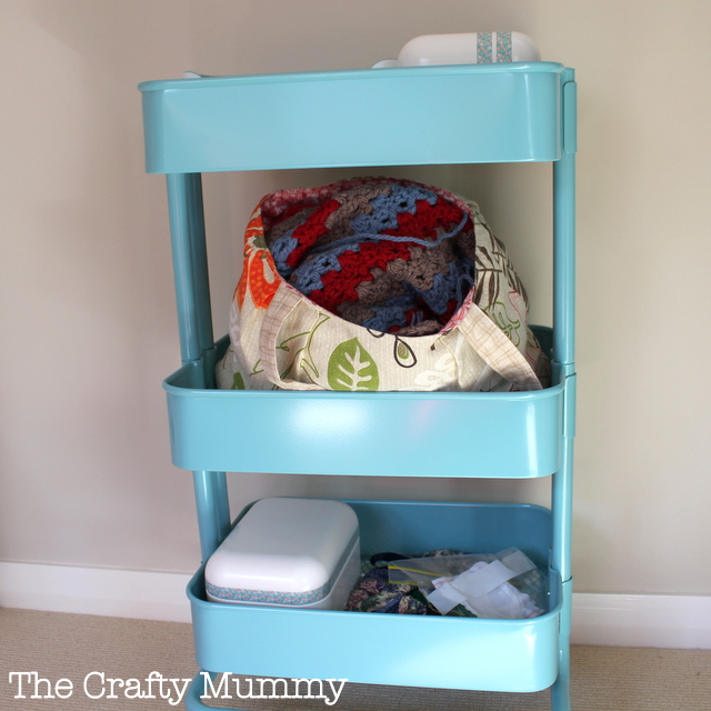 turquoise trolley ikea crafts