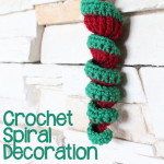Crochet Spiral Decoration