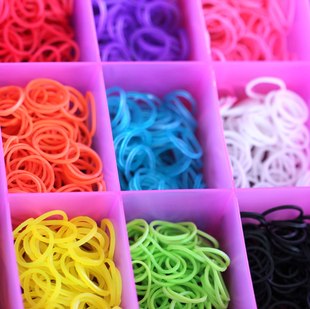 storage box rainbow loom bands