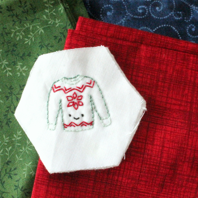 sweater stitchery winter stitching club