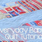 Everyday Baby Quilt Tutorial