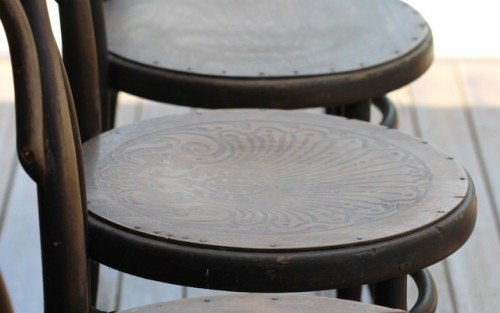 bentwood chair pressed seat
