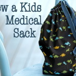 Tutorial Sew a Simple Kids Medical Bag