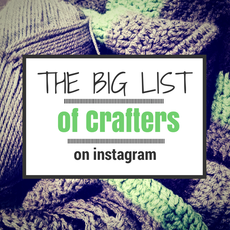 calling crafters on instagram