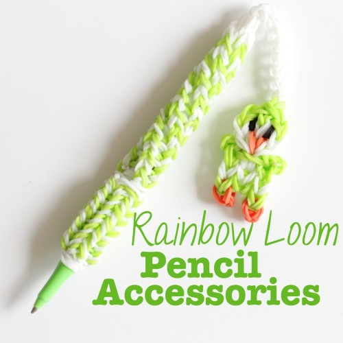 rainbow loom pen accessories
