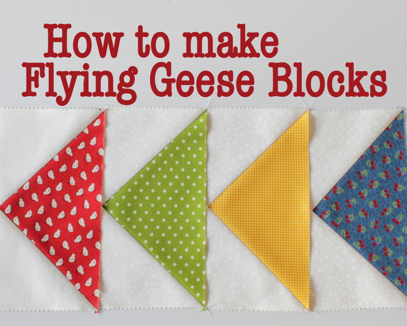 How To Make A Flying Geese Block The Crafty Mummy
