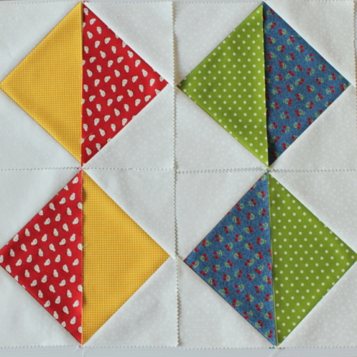 flying geese block 2