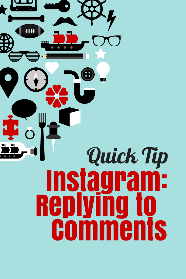 Instagram Tip: Replying to Comments