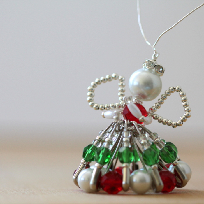 Tutorial Christmas Beaded Angel