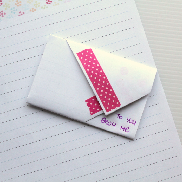 Fold a Rectangle Letter into an Envelope