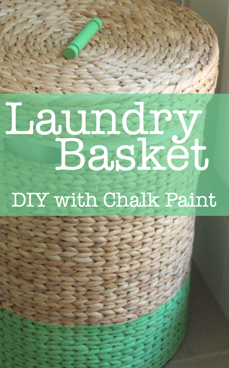 How To Paint A Basket The Crafty Mummy