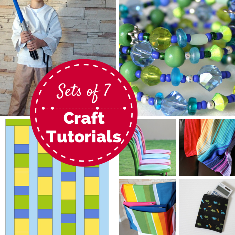 Sets of 7 Craft Tutorials