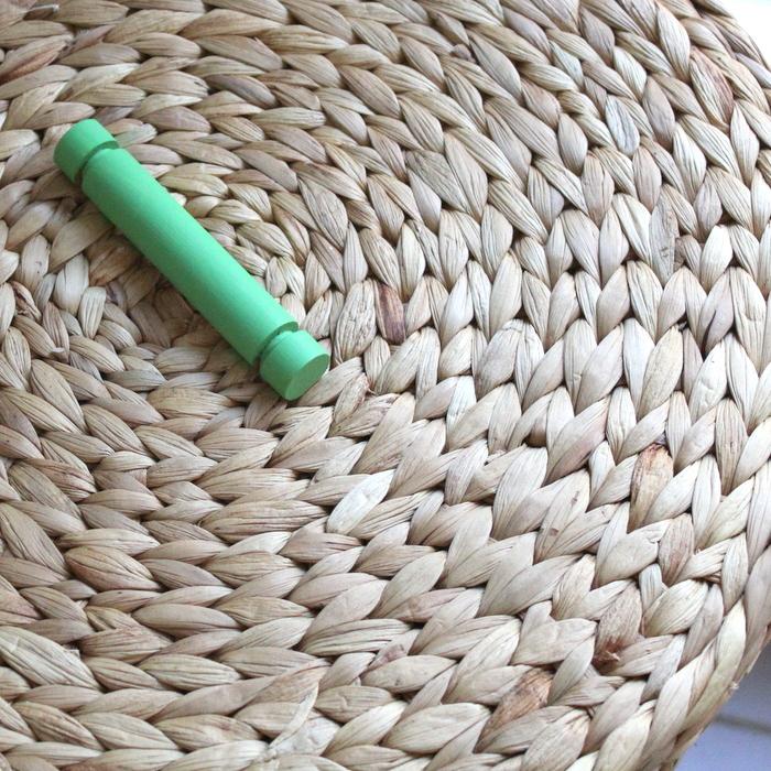 painted basket handle