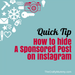 hide sponsored post instagram