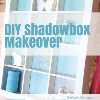DIY Shadowbox Makeover