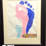DIY: Family Footprints