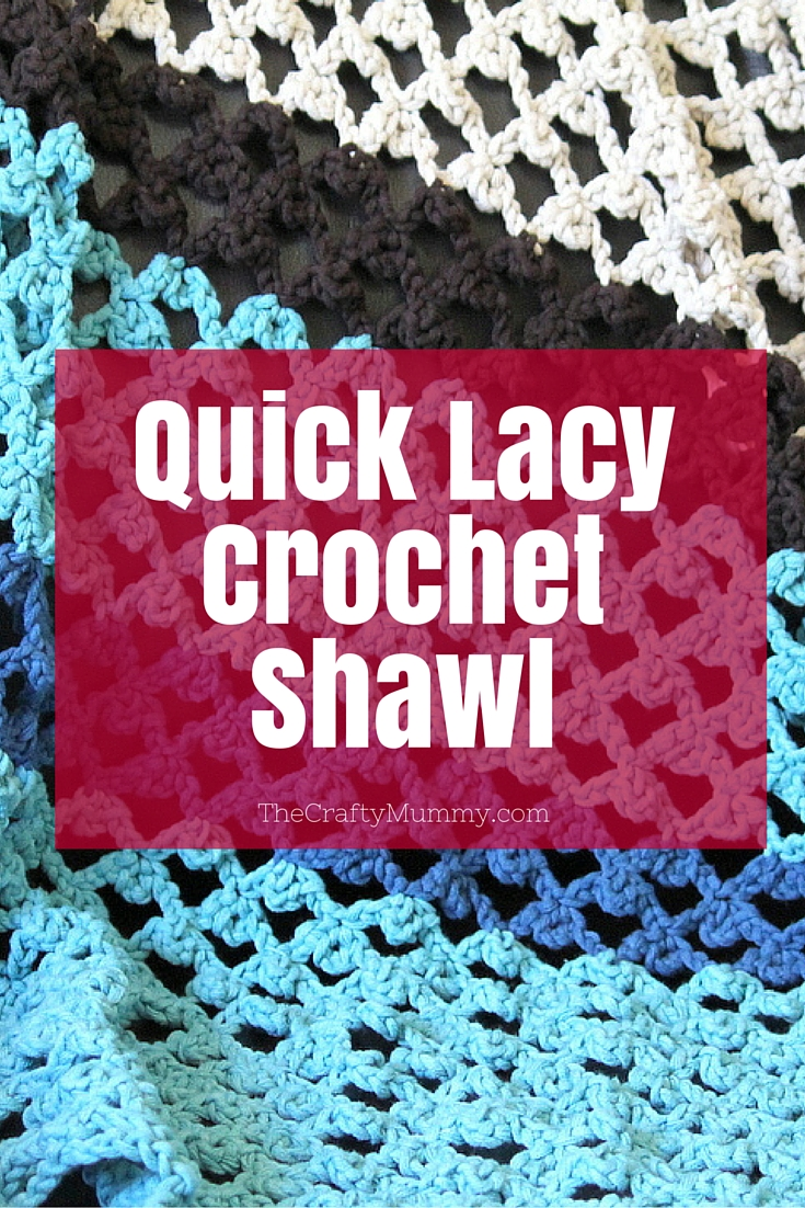 Quick LacyCrochet Shawl (2)