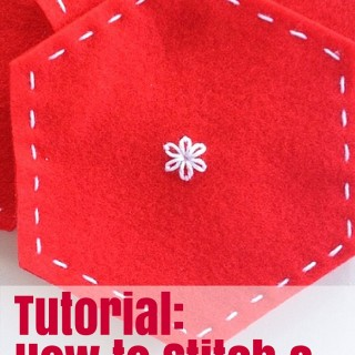 Tutorial- How to stitch a lazy daisy