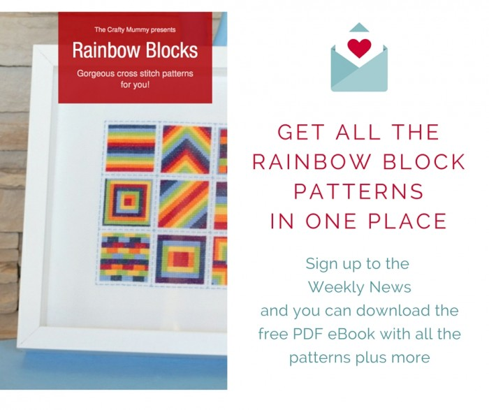 get all the rainbow block patterns in one place