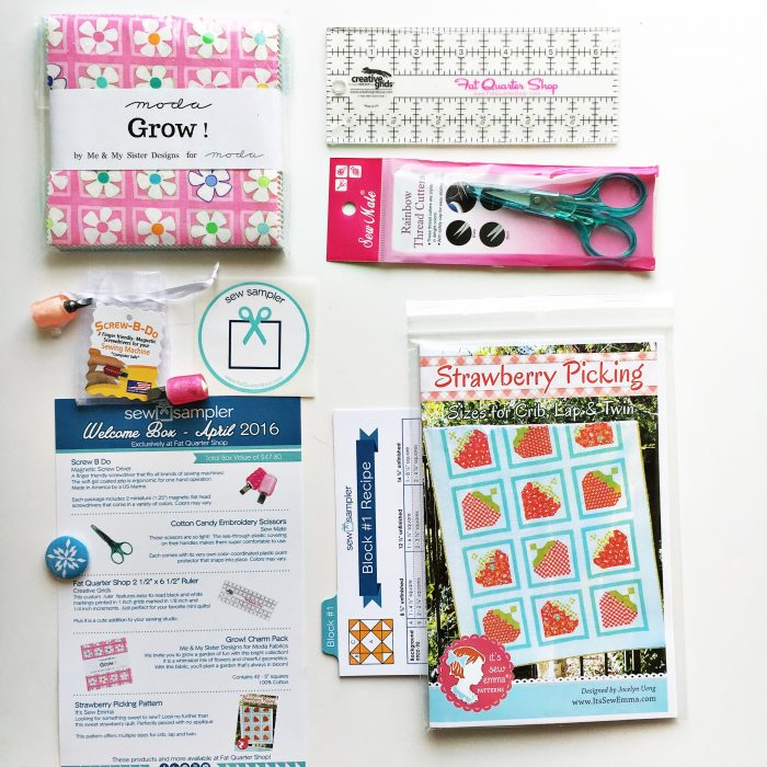 Sew Sampler April16