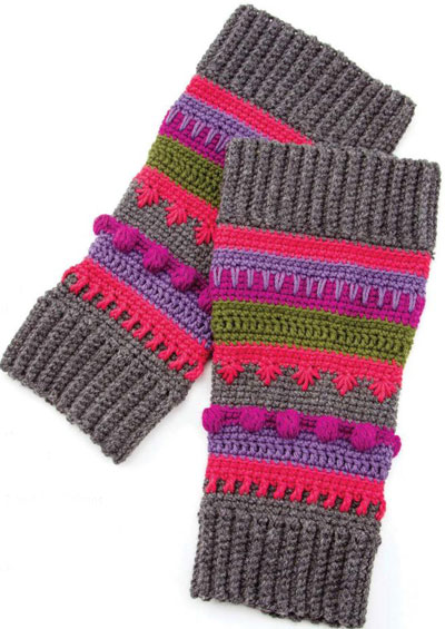 Knitting Pattern Leg Warmers Bulky Yarn : How to Crochet Leg Warmers for Dancers   The Crafty Mummy