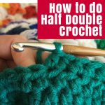 How to do half double crochet square