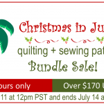 Christmas in July Sewing Bundle