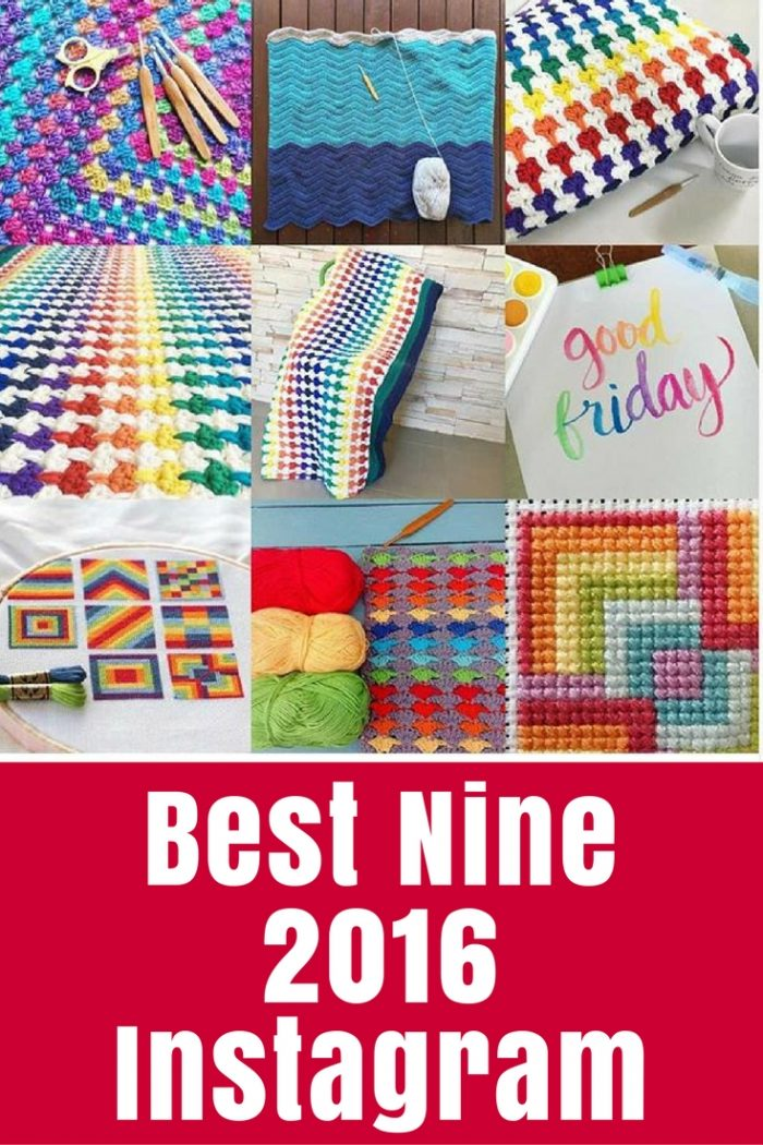 Have you created your Best Nine on Instagram yet? Learn how here, and see the top projects on TheCraftyMummy this year according to Instagram.
