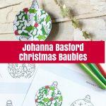 Johanna Basford Christmas Baubles