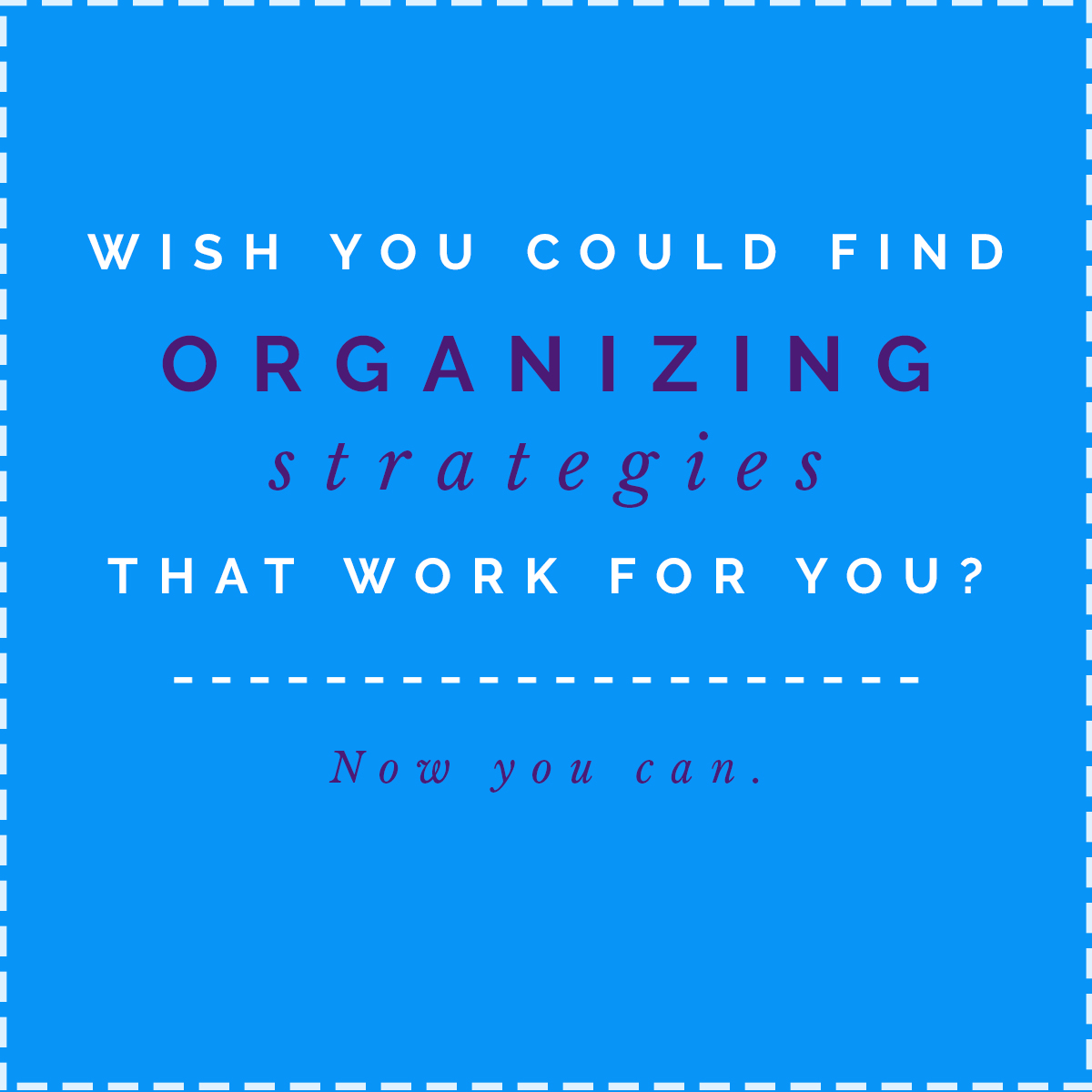 Click to get organised today!